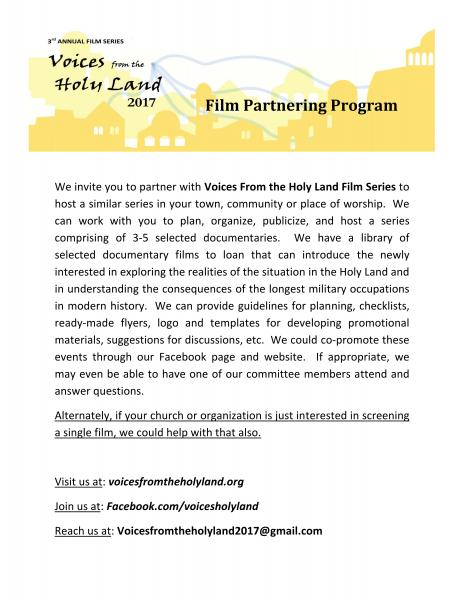 Film Partnering Program